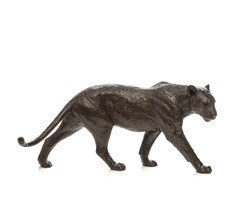 Big Shot by Michael Simpson - Bronze Sculpture sized 18x8 inches. Available from Whitewall Galleries