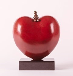 Sitting On Love by Mackenzie Thorpe -  sized 10x13 inches. Available from Whitewall Galleries