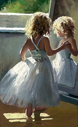 Pretty as a Picture by Sherree Valentine Daines - Canvas on Board sized 8x12 inches. Available from Whitewall Galleries