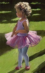 Pretty in Pink by Sherree Valentine Daines - Canvas on Board sized 8x12 inches. Available from Whitewall Galleries