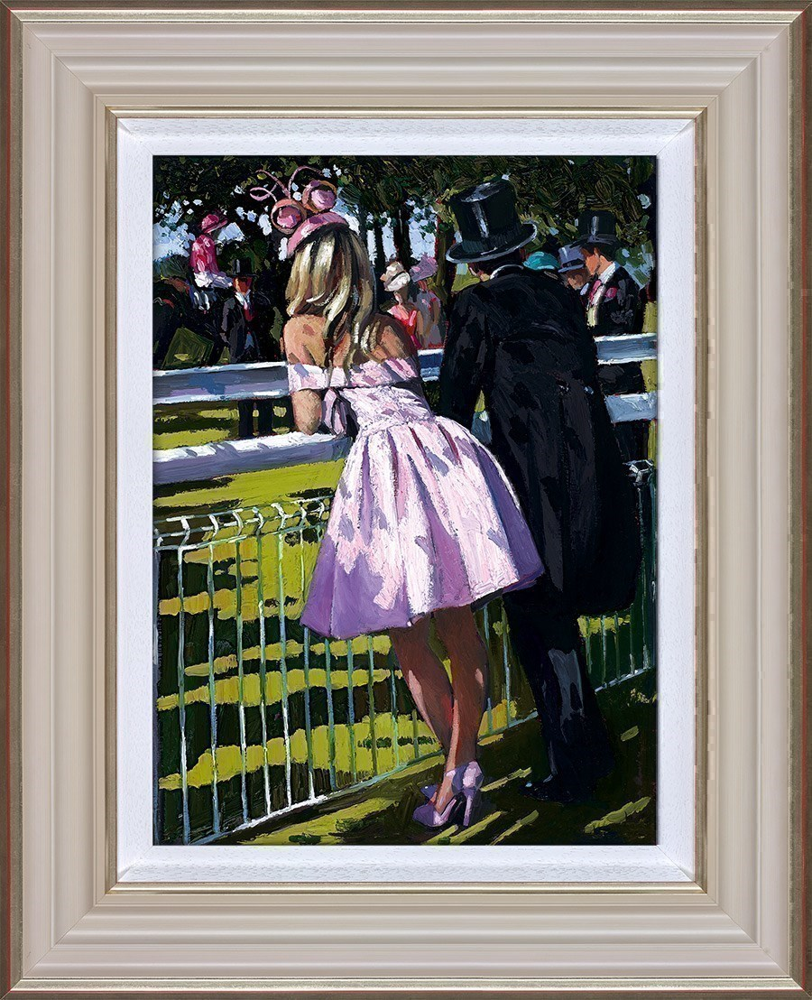 Vision in Pink by Sherree Valentine Daines - Hand Finished Limited Edition on Canvas sized 12x17 inches. Available from Whitewall Galleries