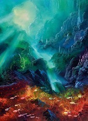 Colours of the Deep by Philip Gray - Embelished Canvas on Board sized 16x22 inches. Available from Whitewall Galleries