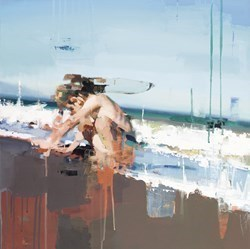 La Caleta by Christian Hook - Limited Edition Canvas on Board sized 16x16 inches. Available from Whitewall Galleries