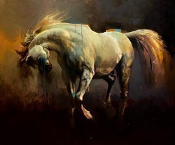 Arabian I by Christian Hook - Stretched Canvas sized 30x40 inches. Available from Whitewall Galleries