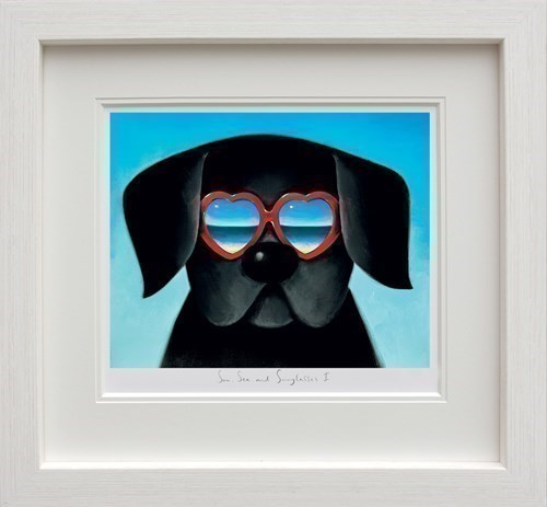 Image: Sun Sea And Sunglasses I by Doug Hyde   Limited Edition on Paper