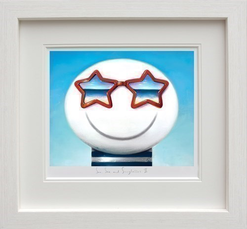Image: Sun Sea And Sunglasses II by Doug Hyde | Limited Edition on Paper