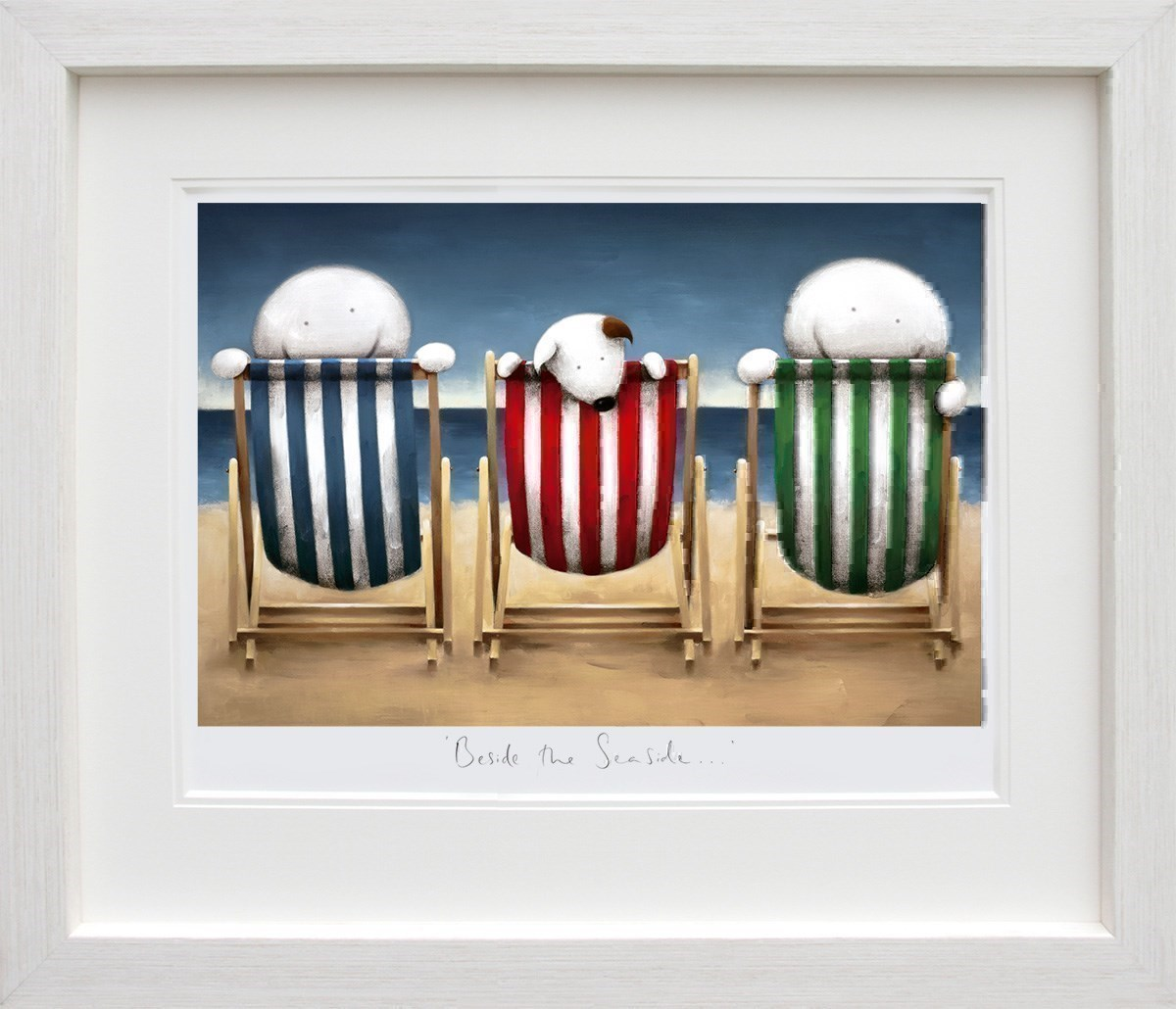 Beside the Seaside by Doug Hyde - Limited Edition on Paper sized 26x17 inches. Available from Whitewall Galleries