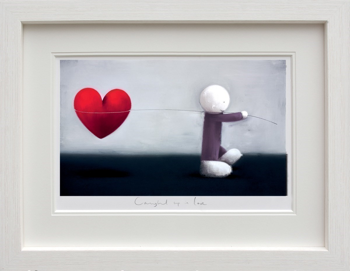 Caught Up In Love by Doug Hyde - Limited Edition on Paper sized 24x14 inches. Available from Whitewall Galleries
