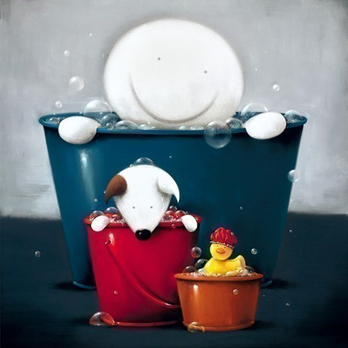 Image: Rub A Dub Dub by Doug Hyde | Limited Edition on Paper