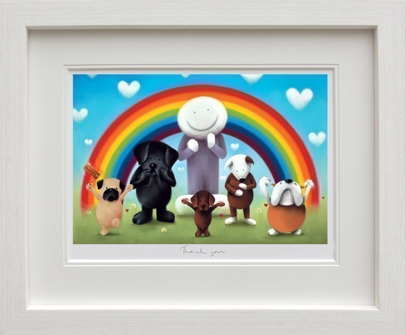 Image: Thank You by Doug Hyde   Limited Edition on Paper