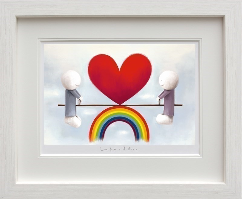 Image: Love From A Distance by Doug Hyde   Limited Edition on Paper