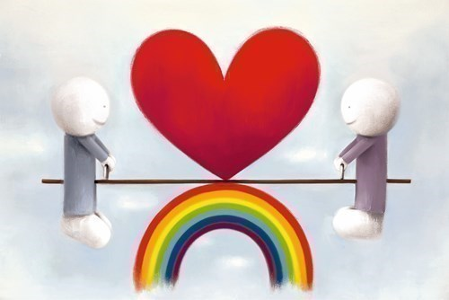 Image: Love From A Distance by Doug Hyde | Limited Edition on Paper