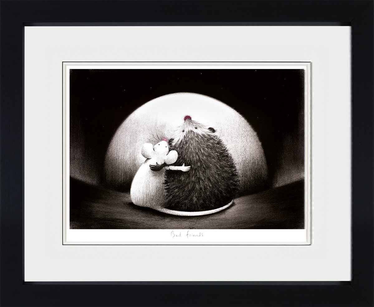 Best Friends by Doug Hyde - Limited Edition on Paper sized 19x13 inches. Available from Whitewall Galleries
