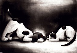 Close to You by Doug Hyde - Limited Edition on Paper sized 19x13 inches. Available from Whitewall Galleries