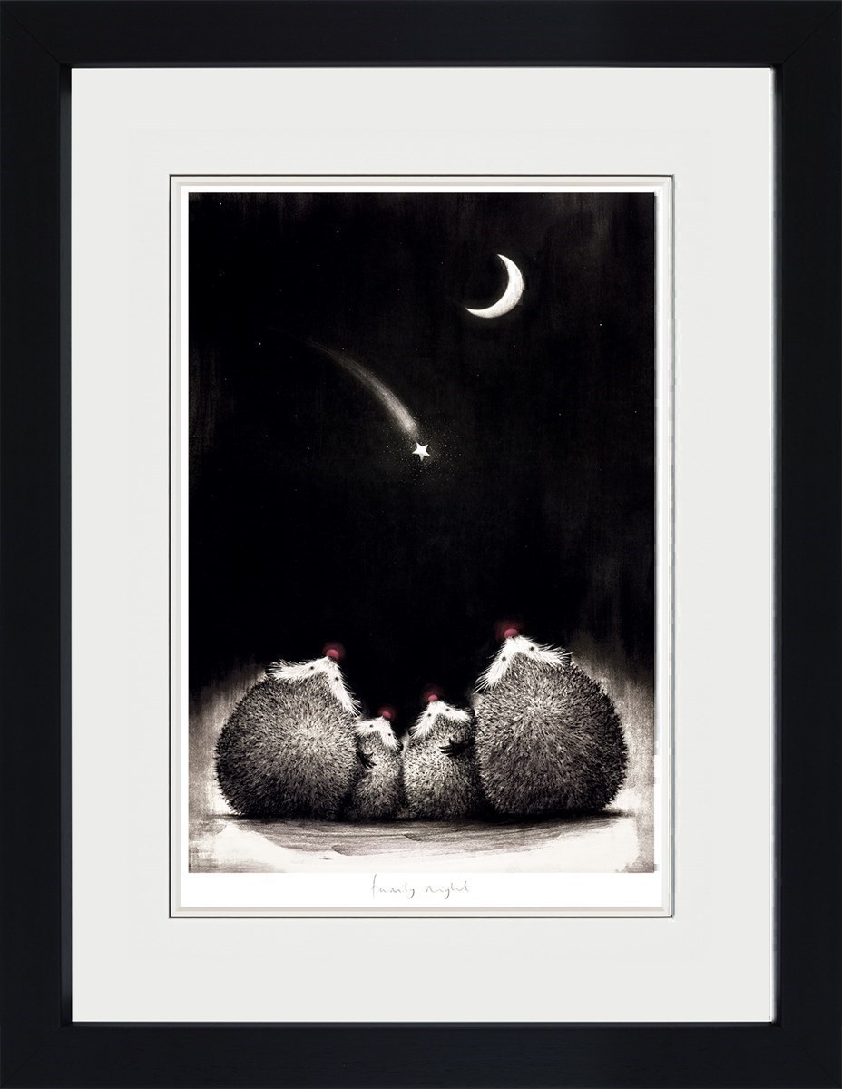 Family Night by Doug Hyde - Limited Edition on Paper sized 19x13 inches. Available from Whitewall Galleries