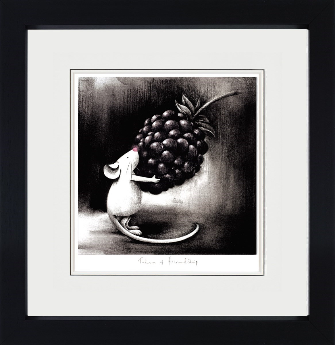 Token of Friendship  by Doug Hyde - Limited Edition on Paper sized 12x12 inches. Available from Whitewall Galleries