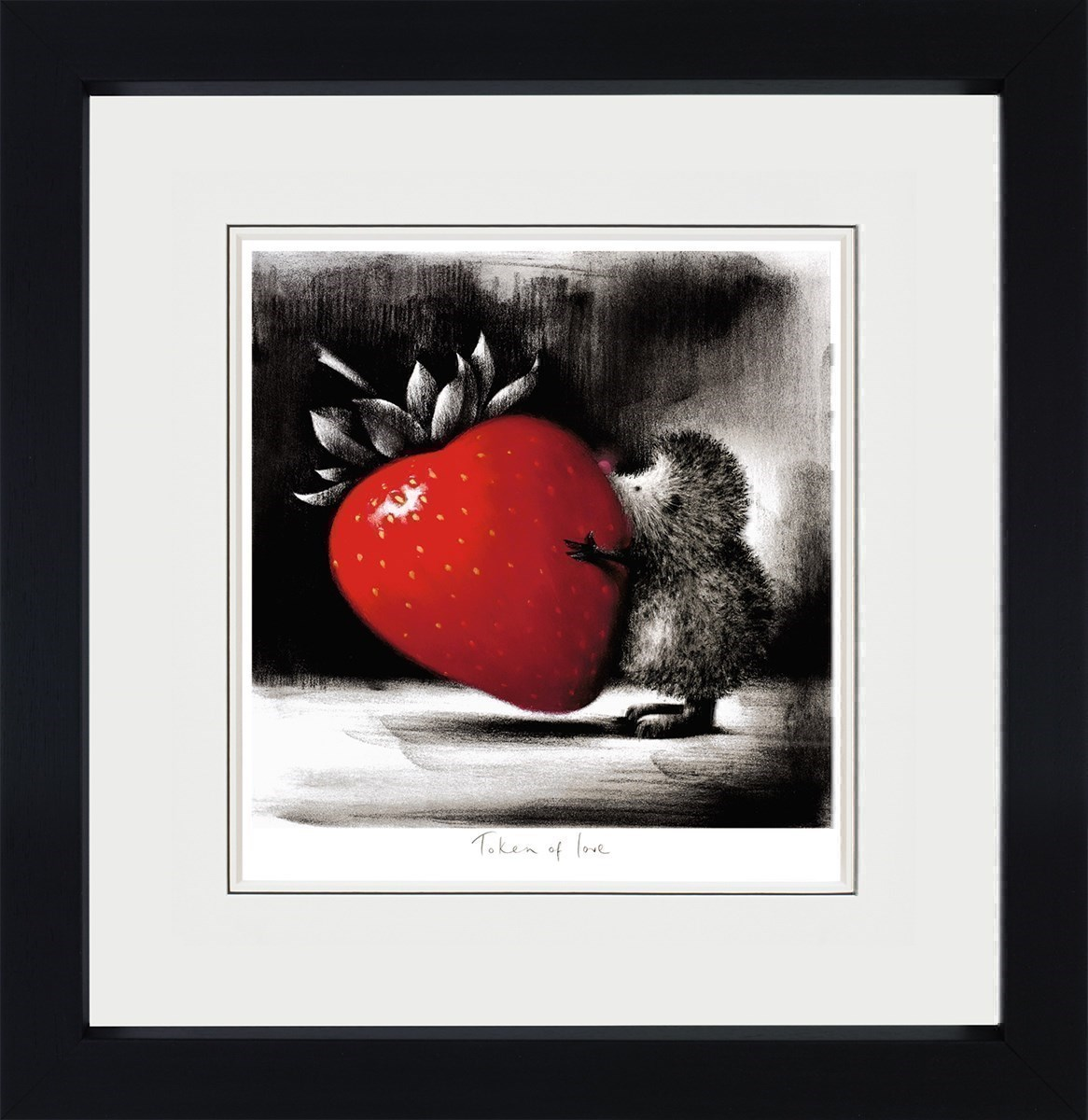 Token of Love by Doug Hyde - Limited Edition on Paper sized 12x12 inches. Available from Whitewall Galleries