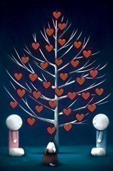 Hearts of Hope (Export) by Doug Hyde -  sized 12x18 inches. Available from Whitewall Galleries