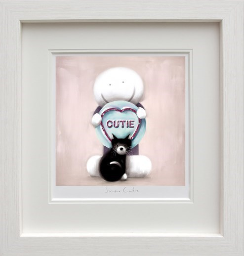 Super Cutie by Doug Hyde - Framed Limited Edition on Paper