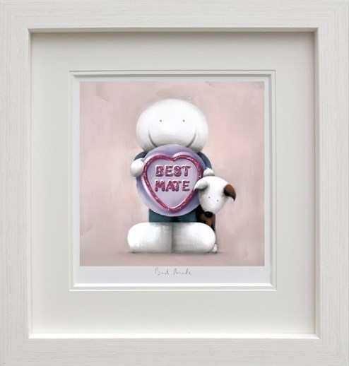 Best Mate by Doug Hyde - Framed Limited Edition on Paper