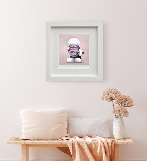 Best Mate by Doug Hyde - Limited Edition on Paper wall setting