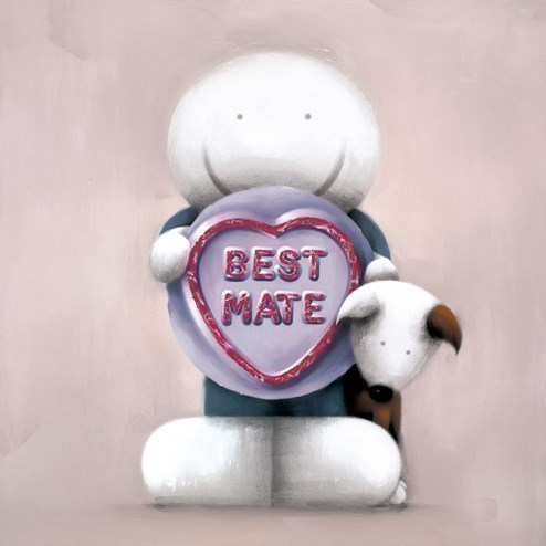 Best Mate by Doug Hyde - Limited Edition on Paper