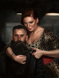 Final Cut by Vincent Kamp - Hand Finished Limited Edition on Canvas sized 15x20 inches. Available from Whitewall Galleries