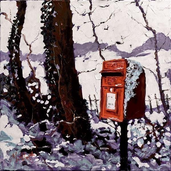 Snowy Postbox