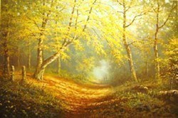 Autumn Shades by James Preston -  sized 19x13 inches. Available from Whitewall Galleries