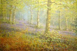 Woodland Walk by James Preston -  sized 19x13 inches. Available from Whitewall Galleries