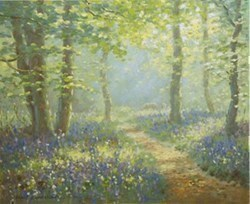 Peaceful Retreat by James Preston -  sized 9x7 inches. Available from Whitewall Galleries
