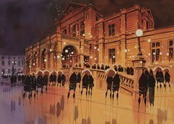 Town Hall Reception by Peter J Rodgers -  sized 16x12 inches. Available from Whitewall Galleries