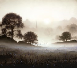Sunday Morning by John Waterhouse - Limited Edition on Paper sized 18x16 inches. Available from Whitewall Galleries